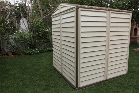 6x6 Shed by Duramax 6x6 Storemate Vinyl Shed With Floor 30411 Free