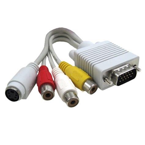 Kabel Vga To Rca vga s rca kabel adapter