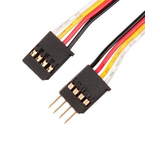 12 4 wire cable vex 4 wire integrated encoder extension cable 12 quot 4 pack
