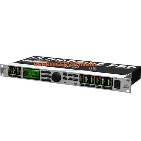 Behringer Loudspeaker Management Processors Ultradrive Dcx2496le processors behringer ultradrive dcx2496le processors