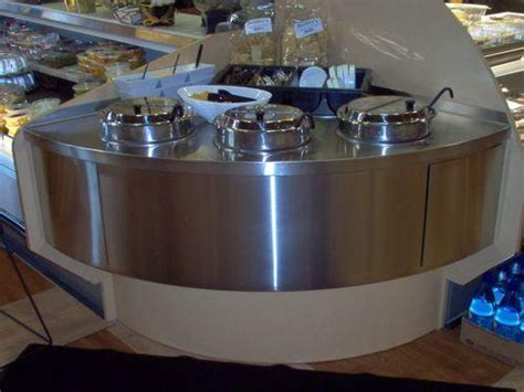 Soup Countertops stainless custom stainless kitchen food prep