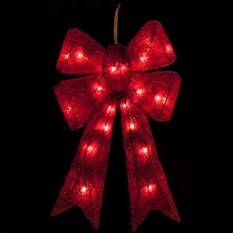 large lighted bow best 28 led bows ribbon large led