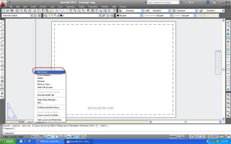 create layout on autocad create new a layout in autocad