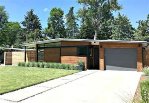 Midcentury Modern Houses - denver mid century modern homes capture a new generation