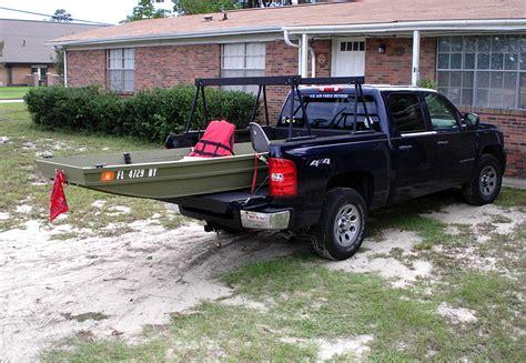 jon boat in truck bed diy jon boat dolly diy cbellandkellarteam