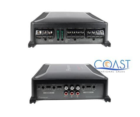 Power Lifier 4 Channel Pioneer Gm 8604 pioneer gm d8604 class fd 1200w 4 channel bridgeable audio