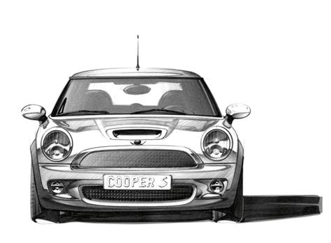 mini design sketch car body design 57767 on wookmark