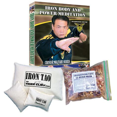 Dvd Martial Arts Alex Tao Iron And Power Meditation dvd iron master kit