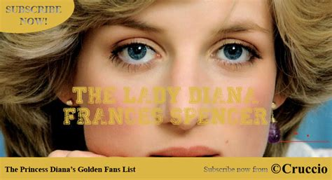 princess diana fans cruccio official website