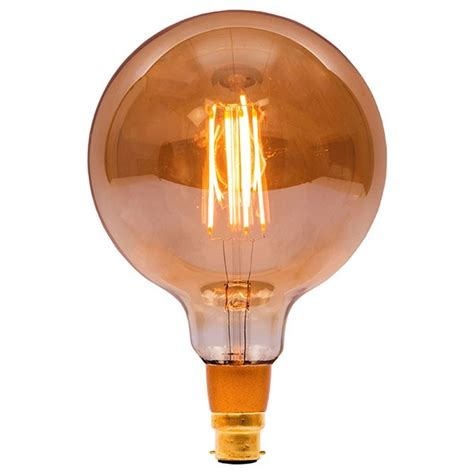 bell lighting vintage 4w warm white dimmable b22 amber led