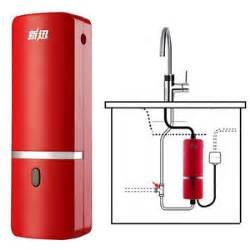 240v tankless instant water heater sink kitchen