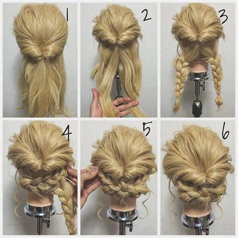 hairstyles diy pinterest 25 best ideas about easy updo on pinterest easy chignon