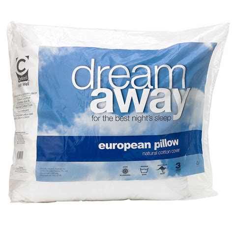 Spotlight European Pillows by Crestell Away European Pillow
