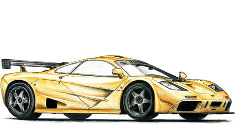 mclaren f1 drawing mclaren f1 lm by sl cardesign on deviantart