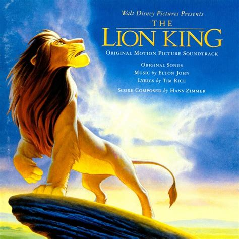 film lion the king soundtrack sunday the lion king ost remains peak disney