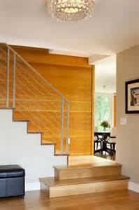 Decorating Staircase Wall Boulder Indoor Outdoor Living Remodel Modern Staircase