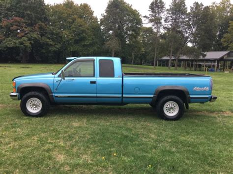 1994 chevrolet silverado 2500 4x4 extended cab with only