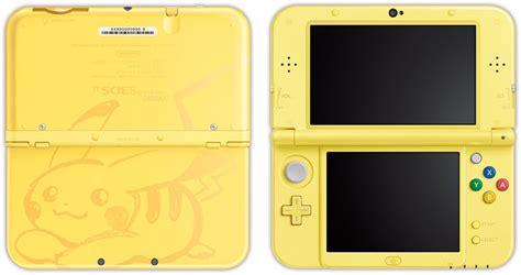 New 3ds Xl Pikachu Yellow Edition New de nouveaux jeux 3ds pour 2017 et une nouvelle console new 3ds xl 224 l image de pikachu