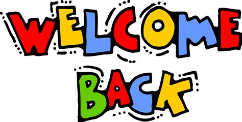 clipart graphics welcome back graphics clipart clipartix