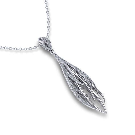 Adiamond Pearl Color Feather Earrings White feather necklace jewelry designs