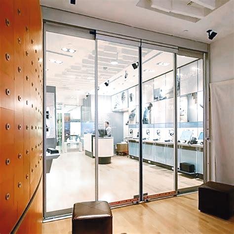 Dorma Glass Doors Dorma Esa 400 Frame Breakout Automatic Sliding Door Storefront Glass Doors