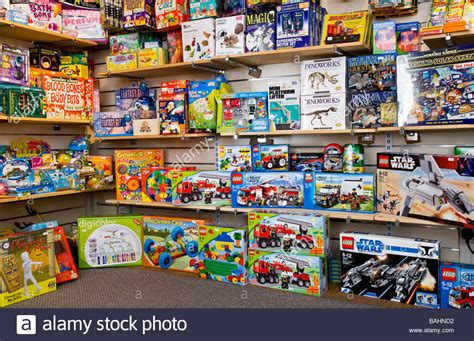 On A Shelf Stores by Boxes Of Creative Toys And For Children On Shelves