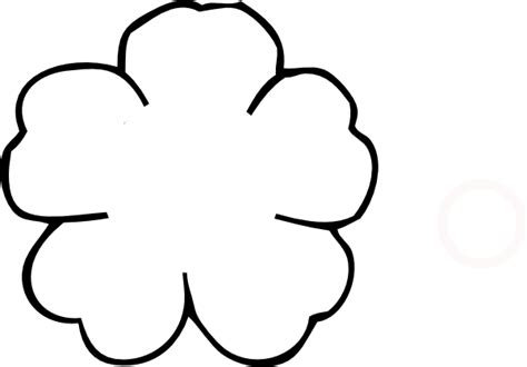 poppy craft template stencil of poppy flower clipart best