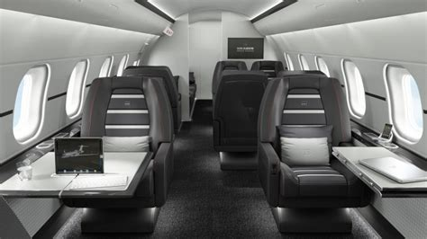 Black And White Bedroom by 17 Of The Most Beautiful Private Jets Interiors In 2013