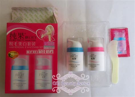 G B18 Set 2in1 White buy best deal fruit instant hair removal and