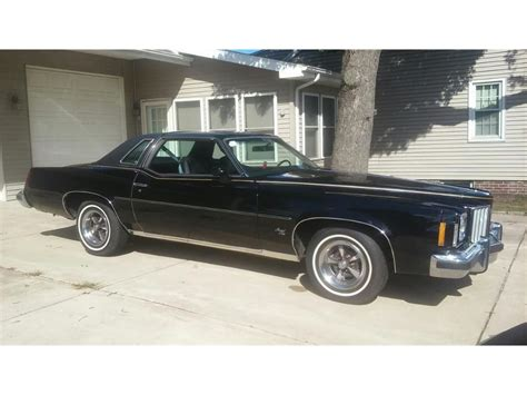 pontiac grand prix 1975 1975 pontiac grand prix for sale classiccars cc 807600