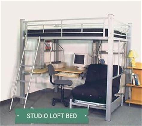 L Shaped Loft Bed With Desk by New Studio Bunk Loft Bed W L Shaped Computer Desk