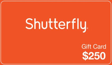 Free Gift Cards Giveaway - enter to win 250 shutterfly gift card