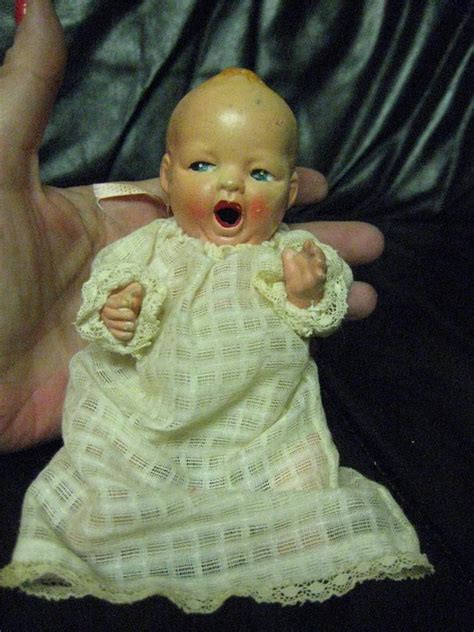 bisque doll history antique vintage all bisque yawning baby doll japan ebay