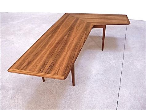 Corner Coffee Tables Rosewood Corner Coffee Table 1960s For Sale At Pamono