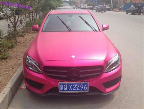 pink mercedes what do you think of this pink mercedes benz c class l