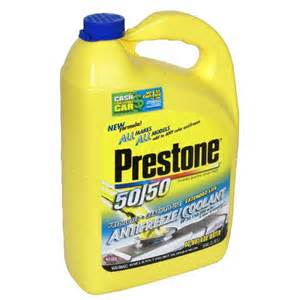 what color is dexcool prestone antifreeze coolant 50 50 protect your engine at