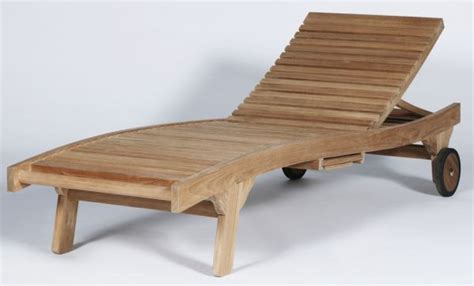 chaise longue teck chaise longue teck goa