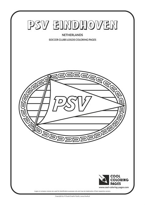 Psv Eindhoven Logo Coloring Page Cool Coloring Pages Cool Shirt Coloring Pages