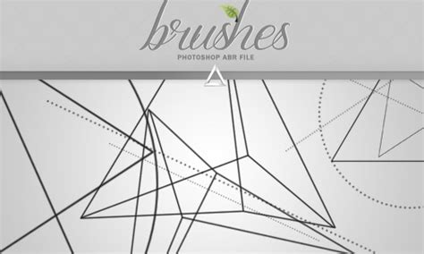 geometric pattern brushes a designer s collection of free triangle brushes for