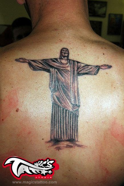 jesus rio tattoo 25 latest christ the redeemer tattoos