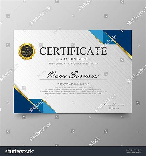 uk certificate template certificate template free uk images
