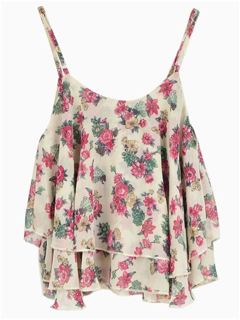 best floral floral crop top i this but if the sleeves were