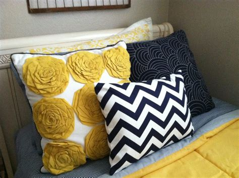 navy and yellow comforter caitiebug love slowly coming along
