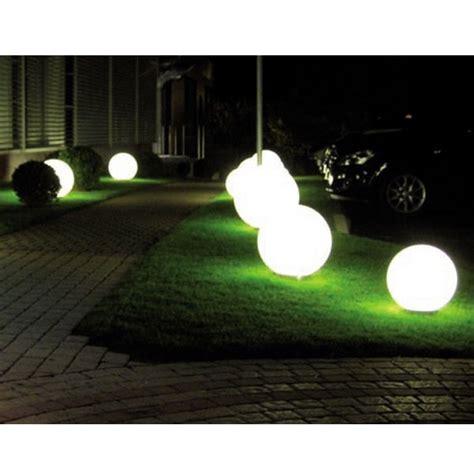ladaire exterieur boule batimex boule lumineuse blanche d ext 233 rieur d 50cm 303122 nouveaux marchands vente de