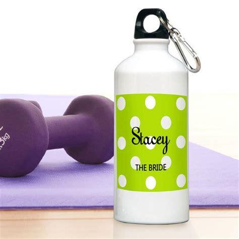 Custom Polka Bottle personalized polka dot water bottle