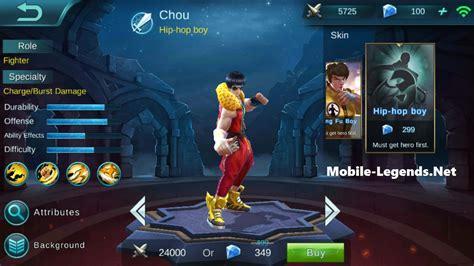 Kartu Redeem Eksklusif Skin Eudora Mobile Legend new chou patch notes 1 1 46 130 1 mobile legends