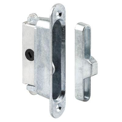 sliding door parts faceplate repair e 2126 mortise lock 3 7 8 quot aluminum 45 keyway