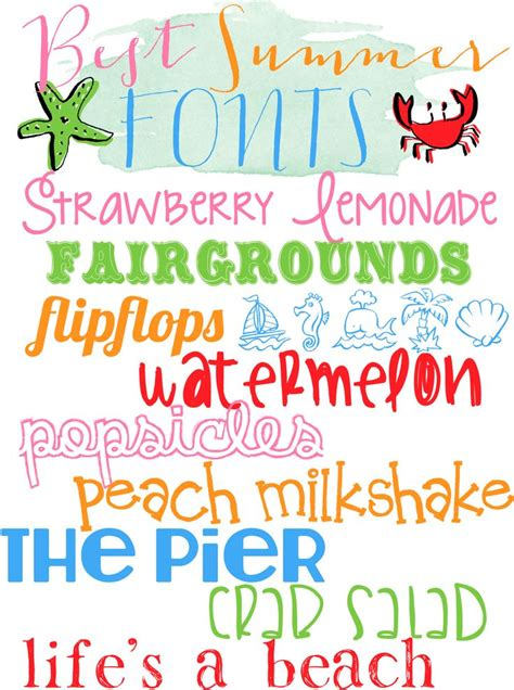 printable beach fonts 1000 images about svg summer on pinterest sun cutting