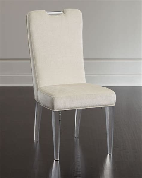 acrylic dining room chairs teaticket acrylic dining chair set of 2