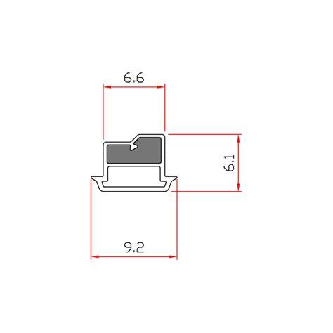 guarnizioni doccia gomma guarnizione magnetica box doccia in gomma ec mag 3202